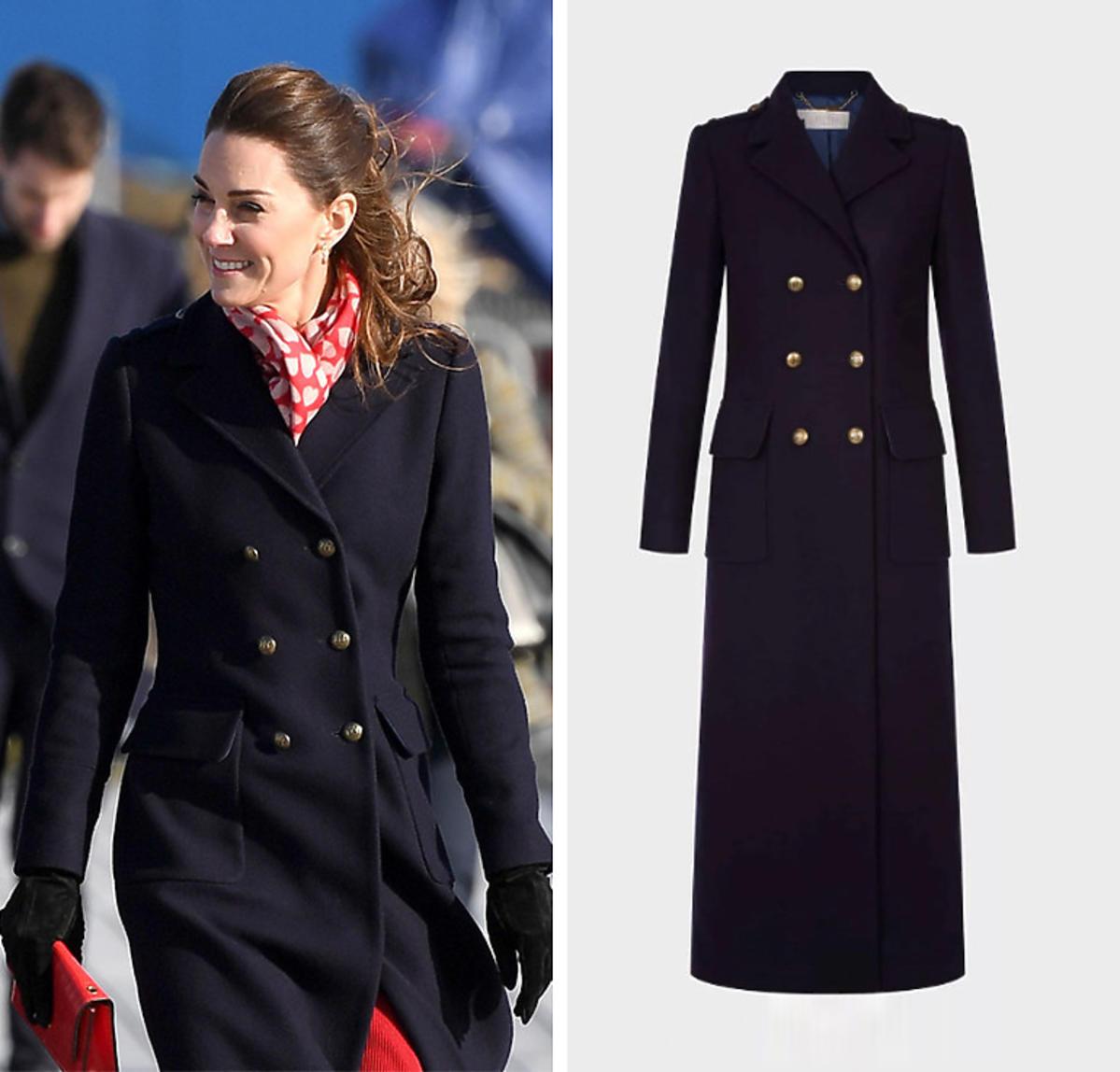 Księżna Kate w walentynkowej stylizacji