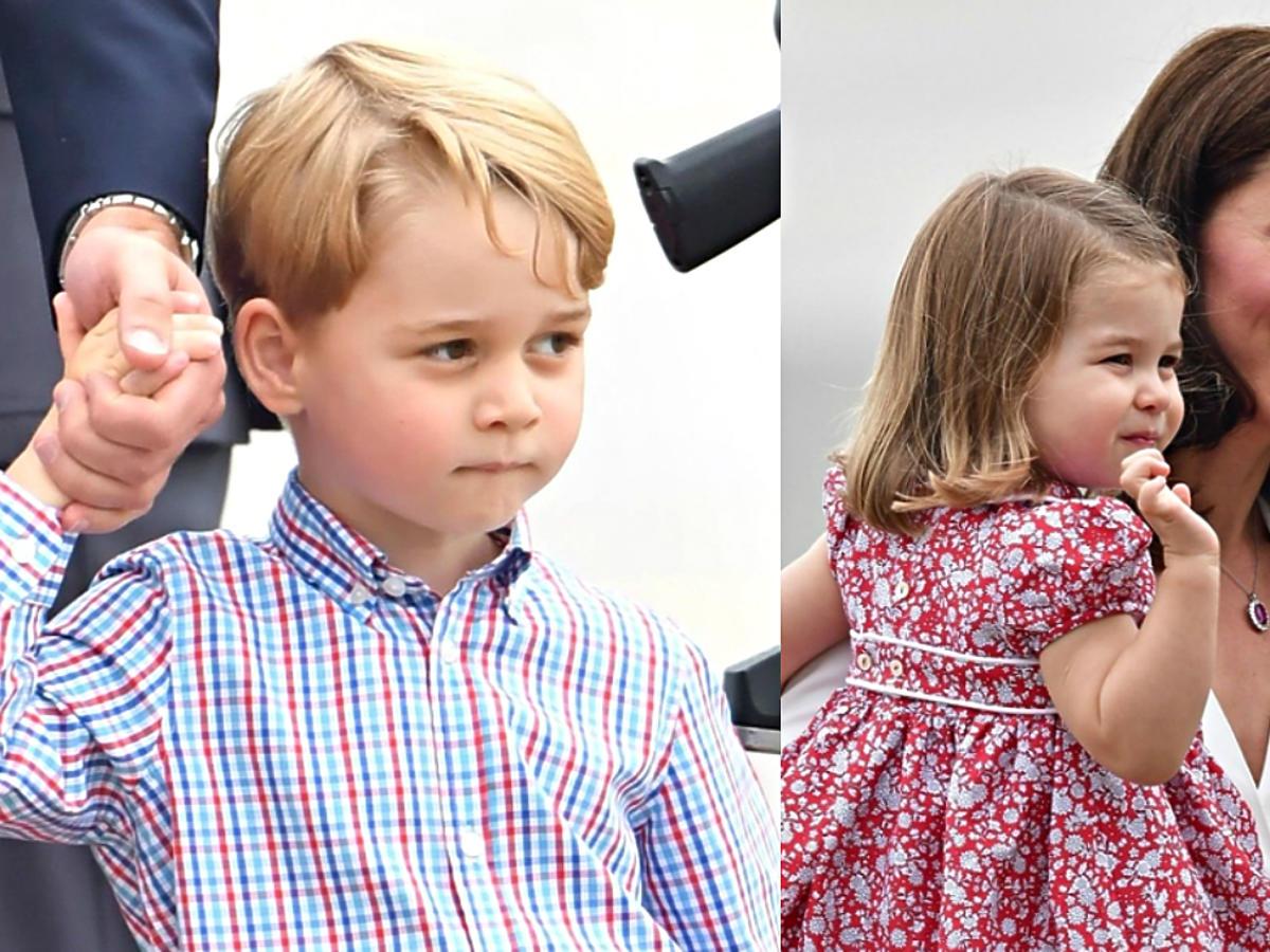 Księżna Kate z dziećmi: Georgem i Charlotte w Polsce