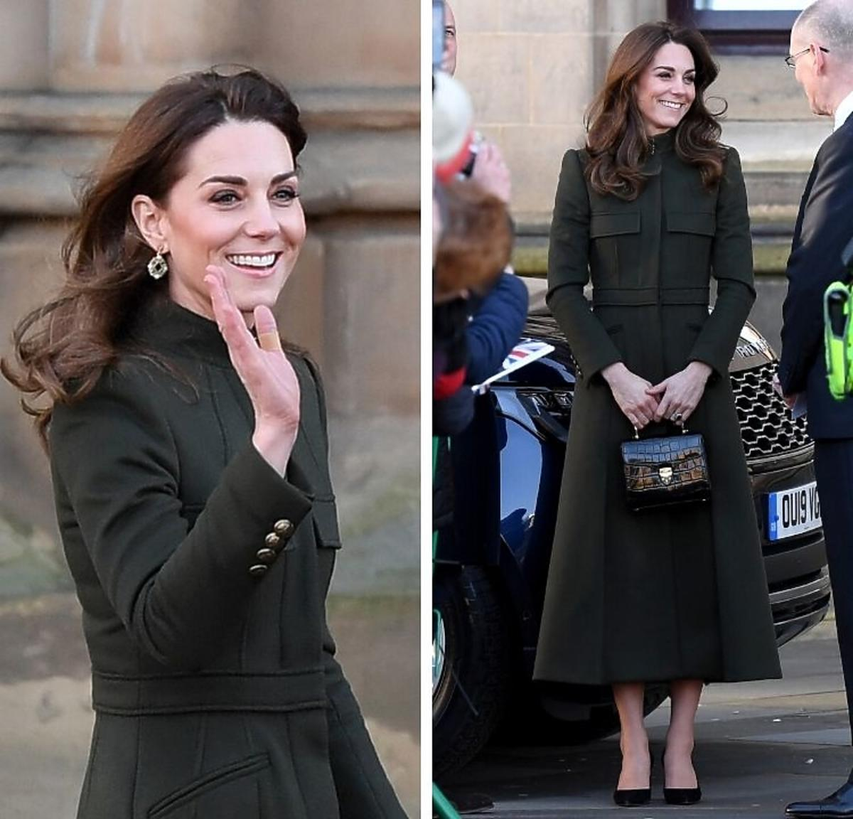 Księżna Kate z wizytą w Bradford