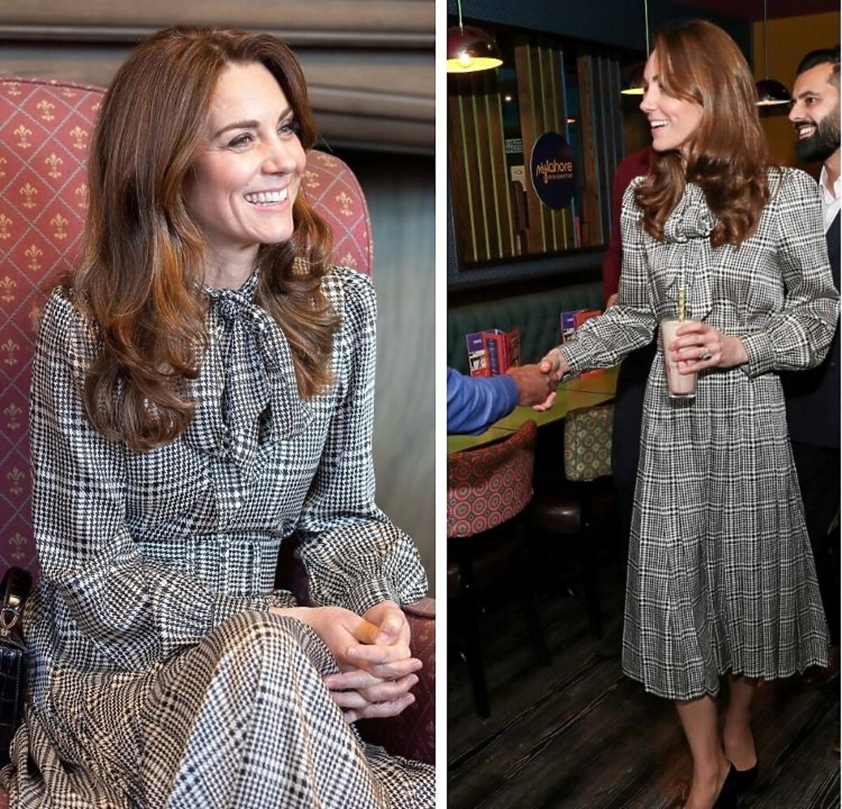 Księżna Kate z wizytą w Bradford w sukience z Zary