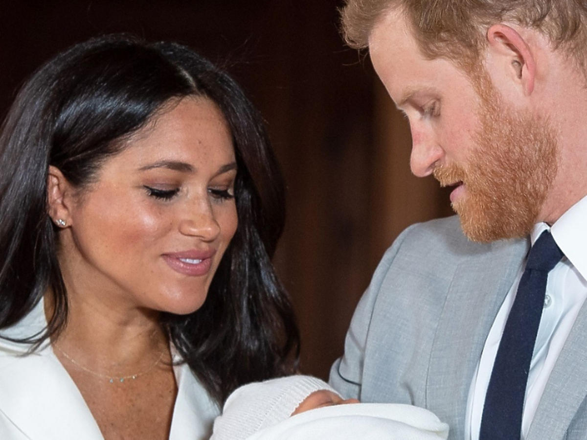 księżna Meghan, Archie, książę Harry