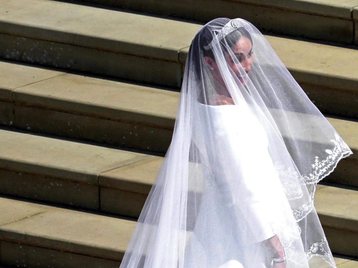 Księżna Meghan w sukni Givenchy