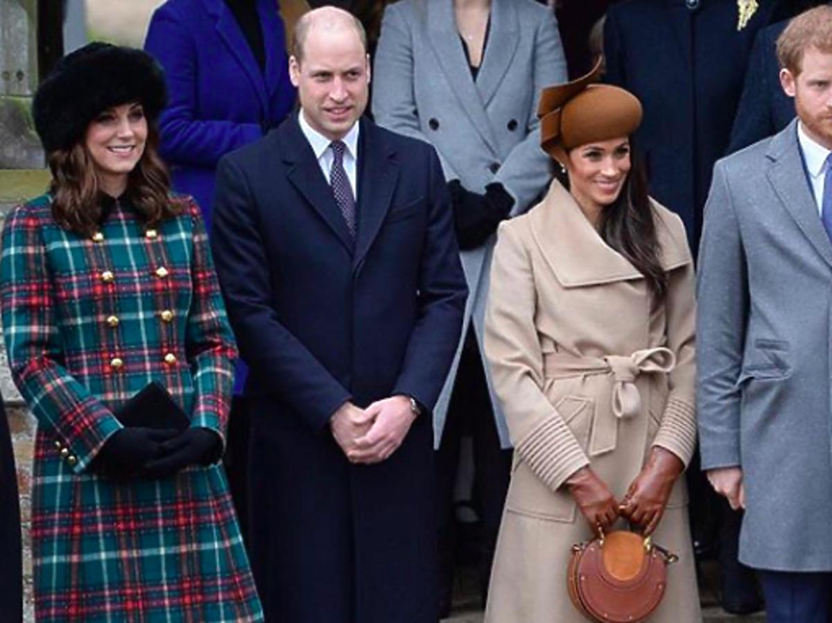 Księżnej Kate, książę William i Meghan Markle książę Harry