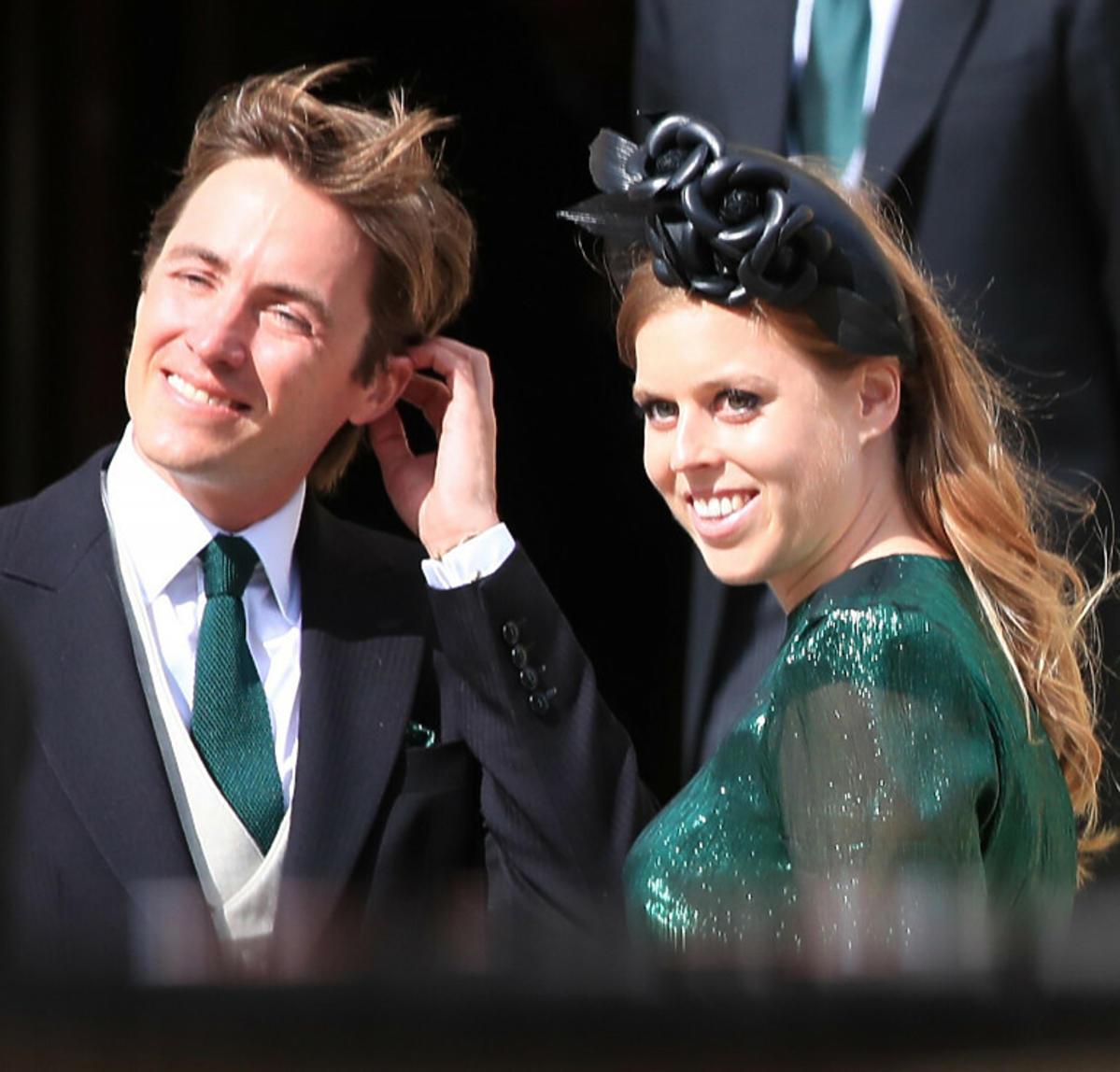 Księżniczka Beatrycze z mężem