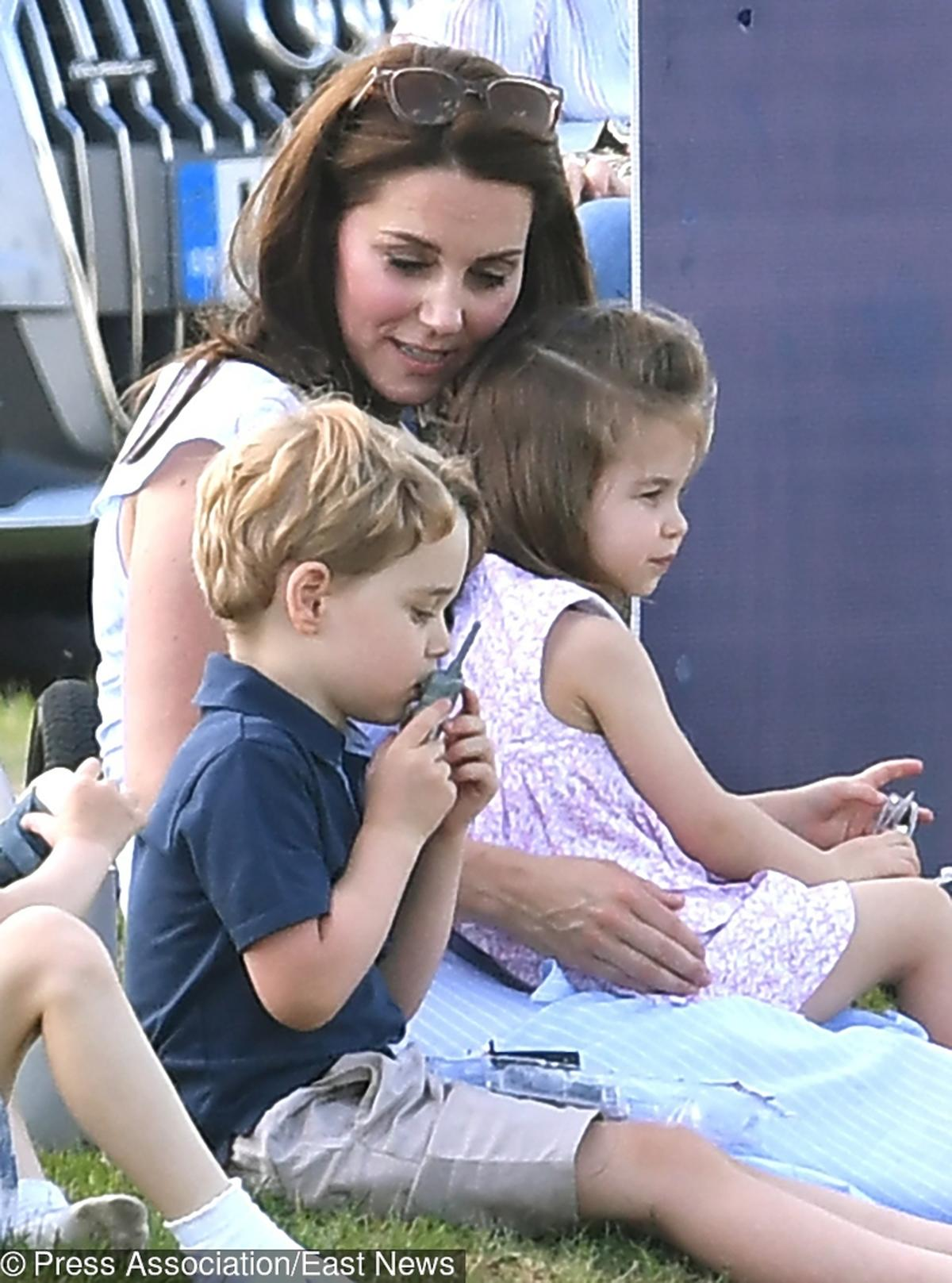 księżniczka Charlotte, księżna Kate, książę George