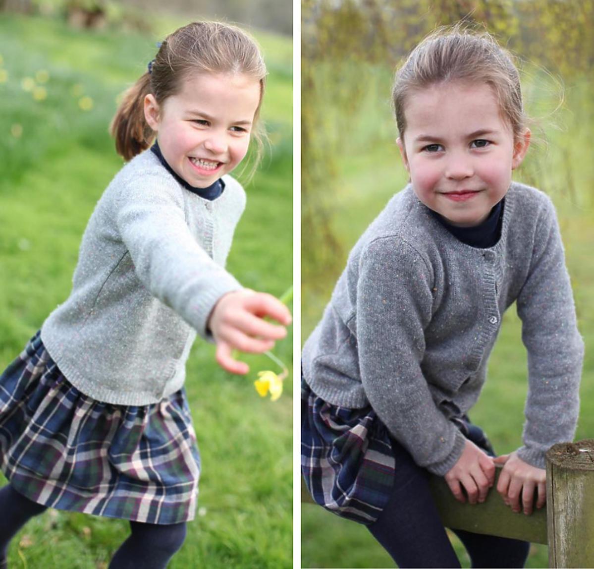 Księżniczka Charlotte  w swetrze