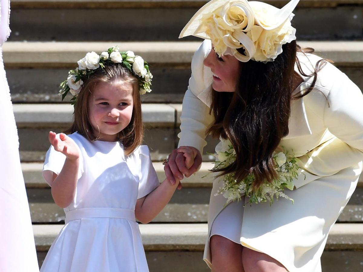 księżniczka Charlotte z mamą księżną Kate