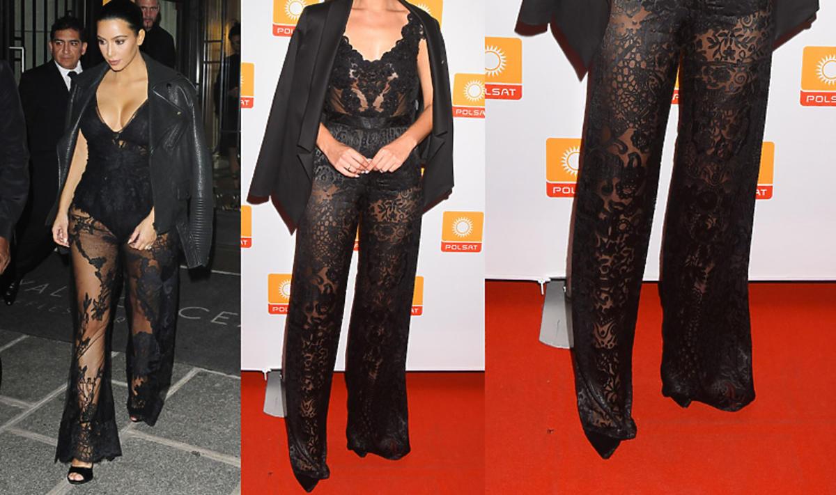 Która gwiazda inspirowała się stylizacją Kim Kardashian?