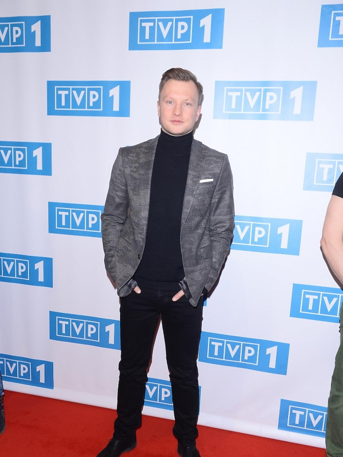 Kuba Wesołowski ramówce TVP 1