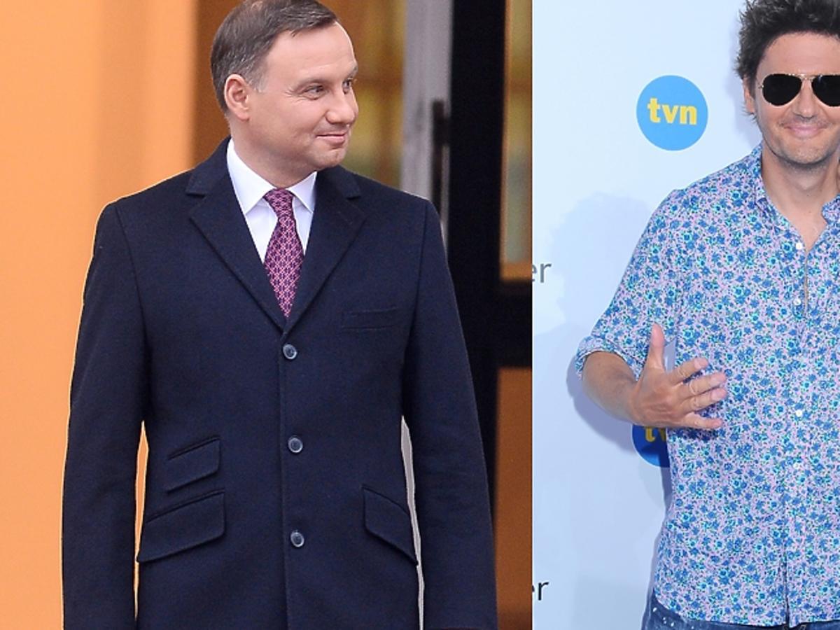 Kuba Wojewódzki o Andrzeju Dudzie