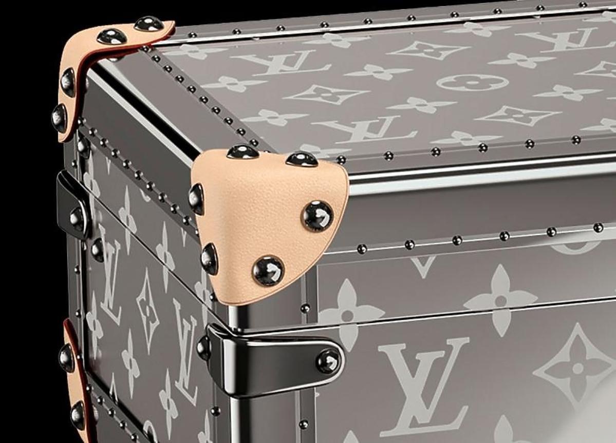 Kufer Louis Vuitton na szampana
