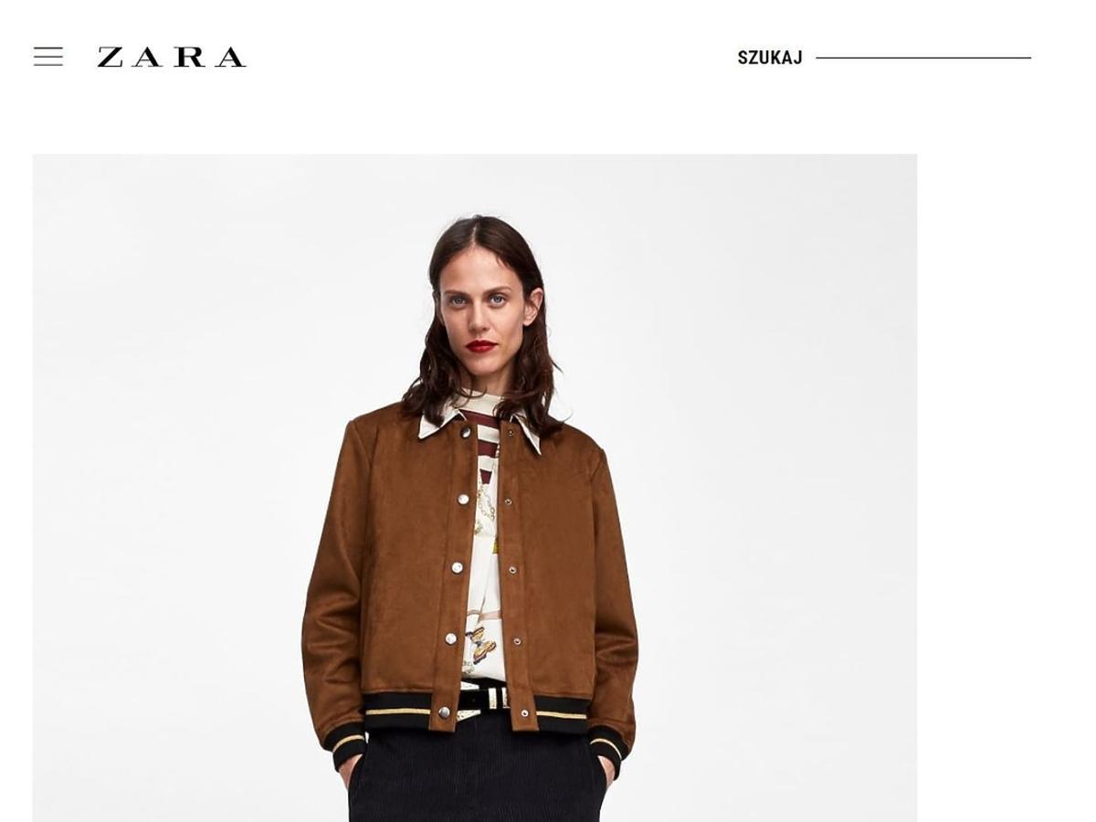 Kurtka Zara