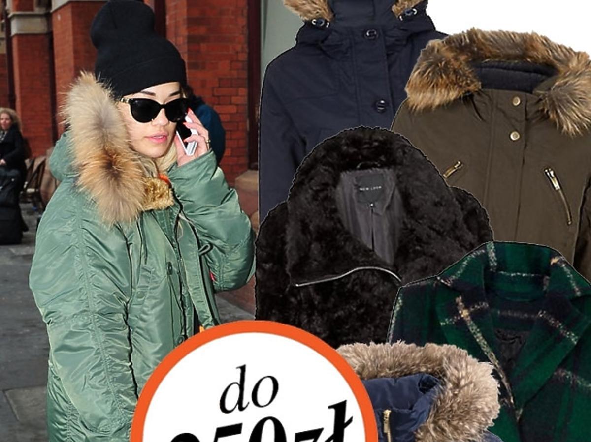 Kurtki i płaszcze na zimę 2014