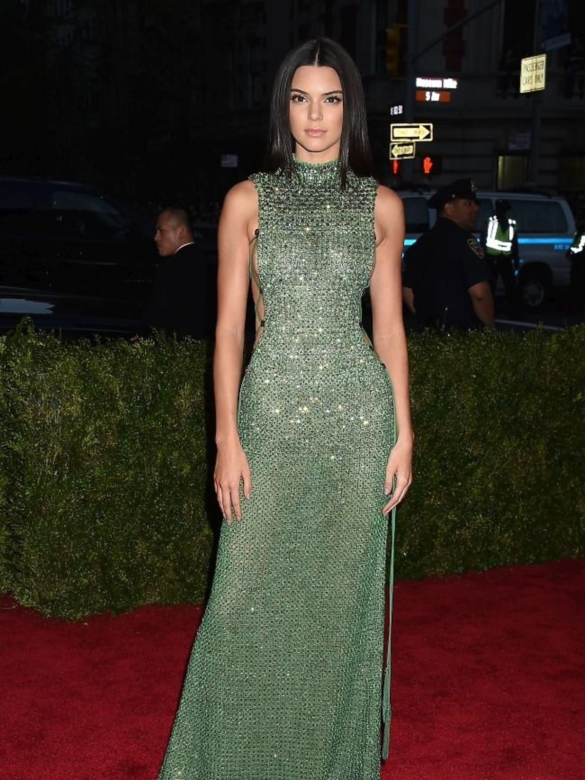 Kylie Jenner na gali MET 2015