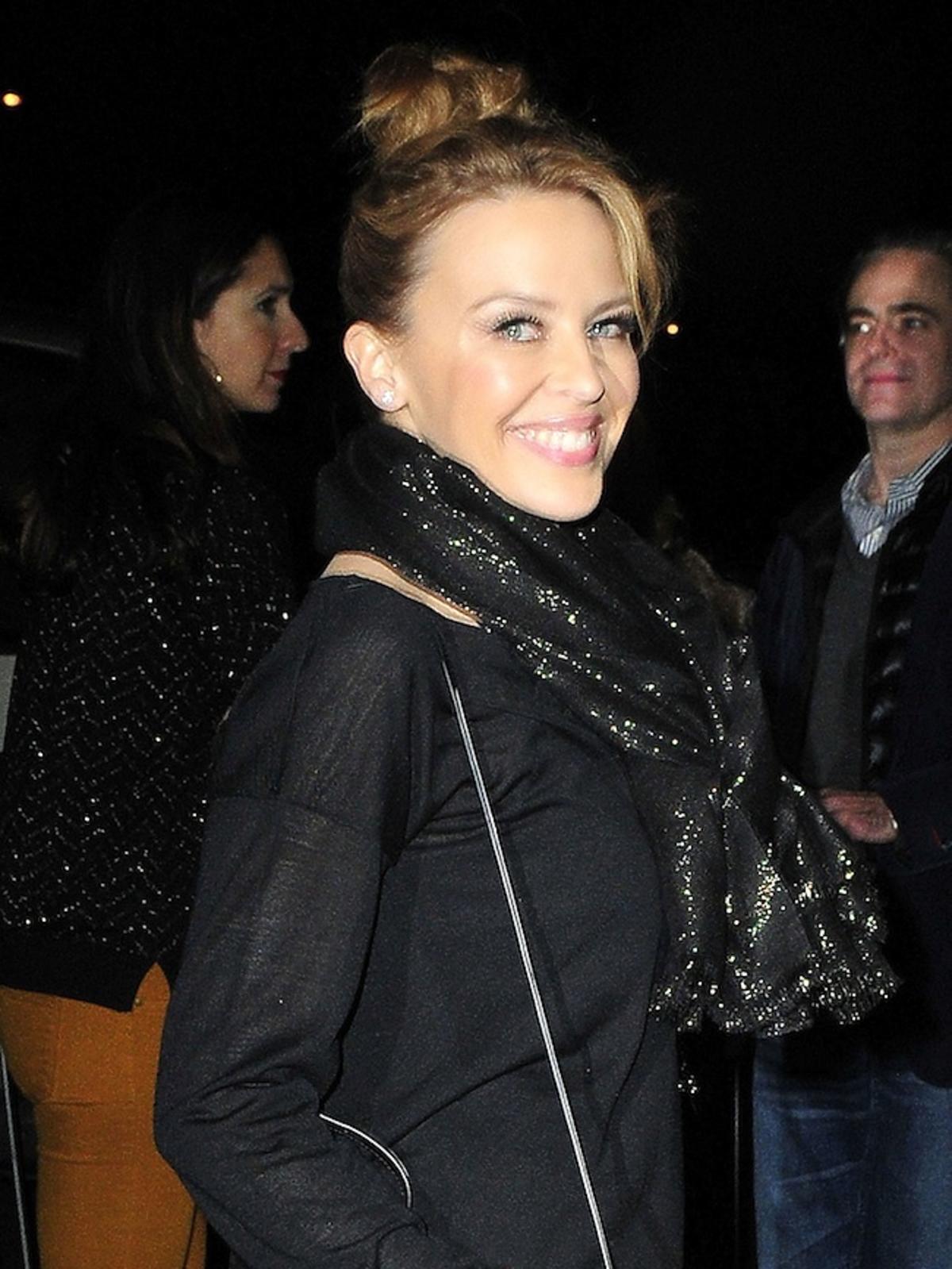 Kylie Minogue na koncercie Rihanny w Londynie