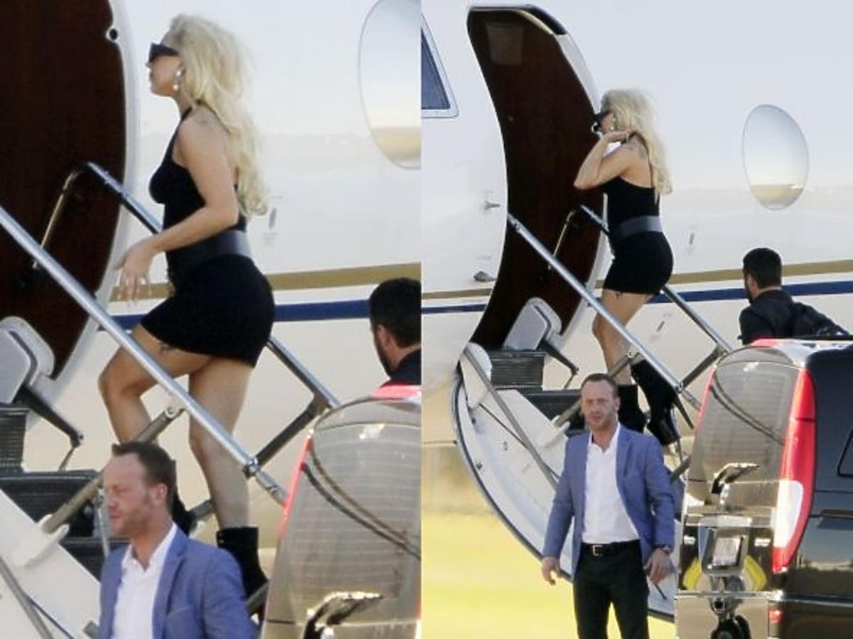 Lady Gaga błysnęła pośladkiem