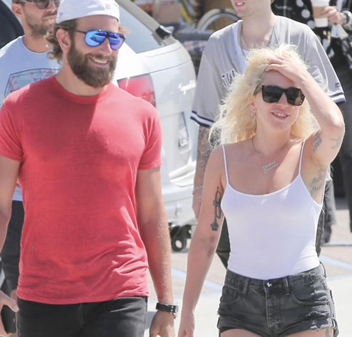 Lady Gaga, Bradley Cooper na randce