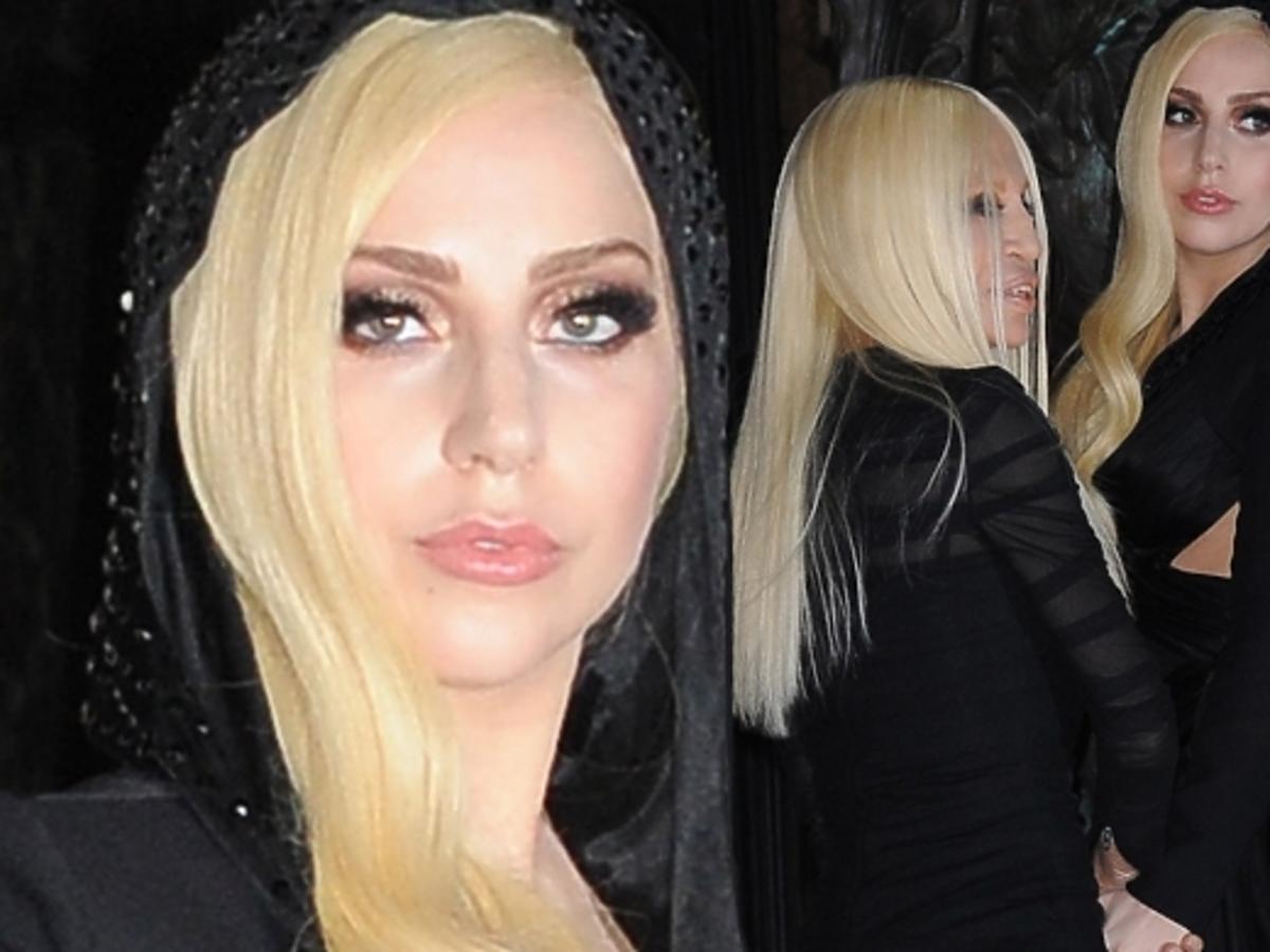 Lady Gaga i Donatella Versace na Paris Fashion Week
