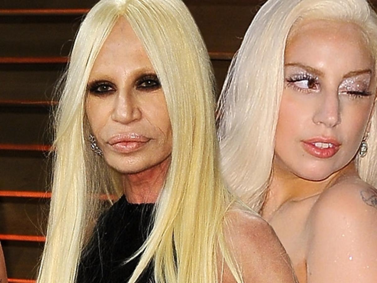 Lady Gaga i Donatella Versace na Vanity Fair Party po Oscarach 2014