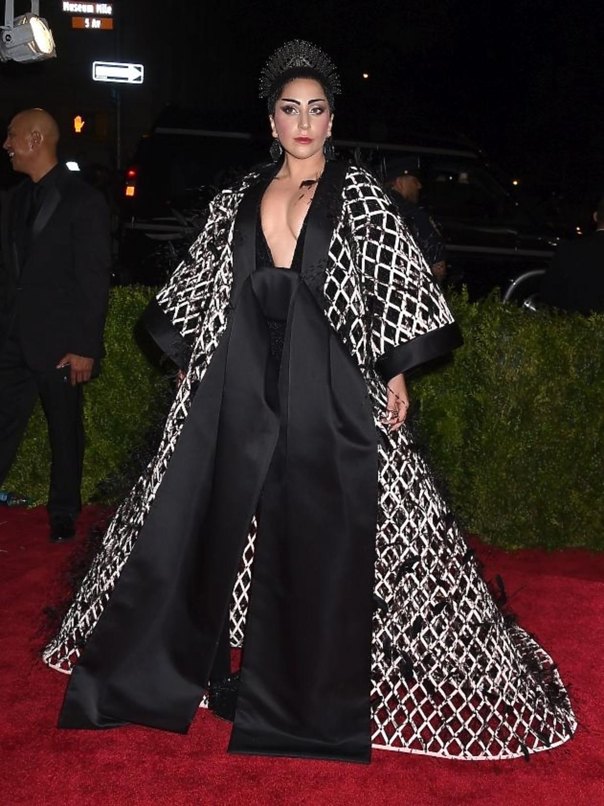 Lady Gaga na gali MET 2015