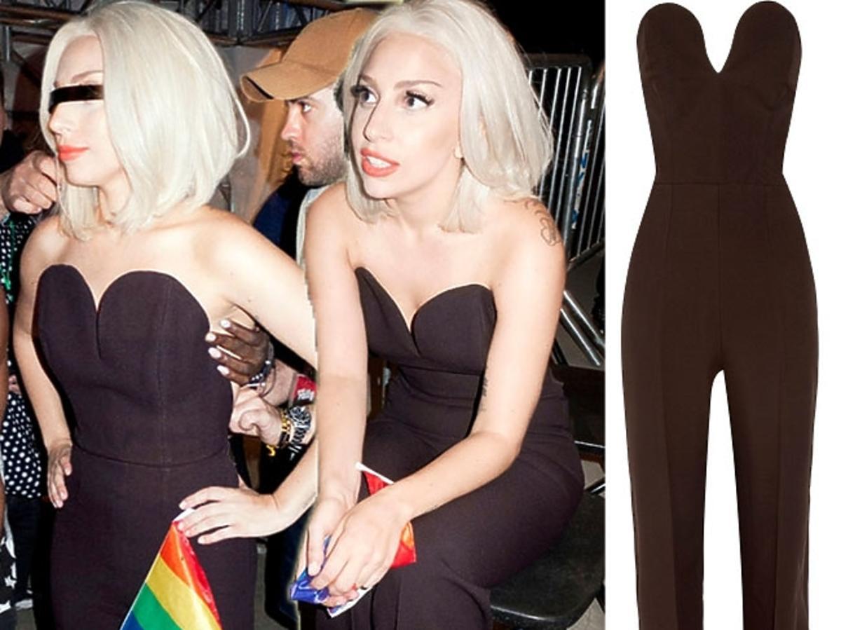 Lady Gaga na paradzie równości w Nowym Jorku