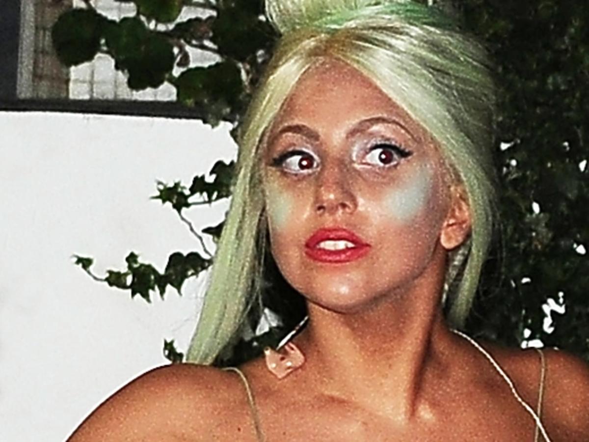 Lady Gaga pokazała się bez mejkapu