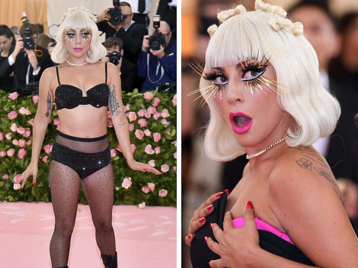 Lady Gaga w bieliźnie