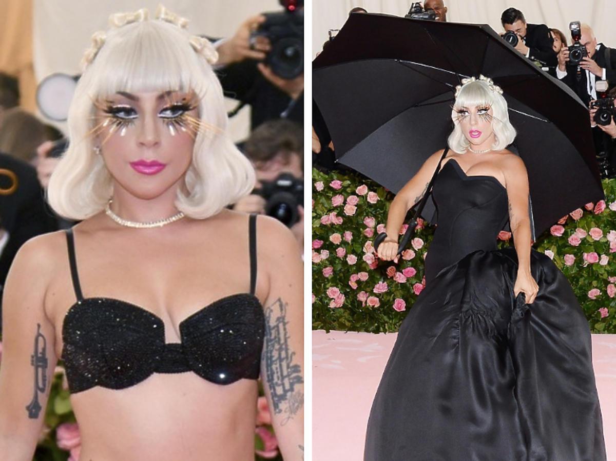 Lady Gaga w bieliźnie na MET Gala