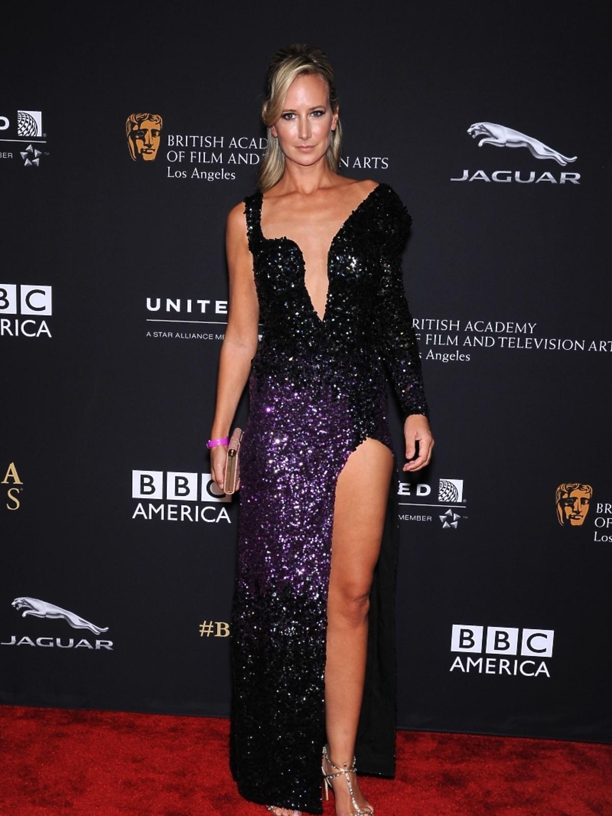 Lady Victoria Hervey na rozdaniu nagród BAFTA