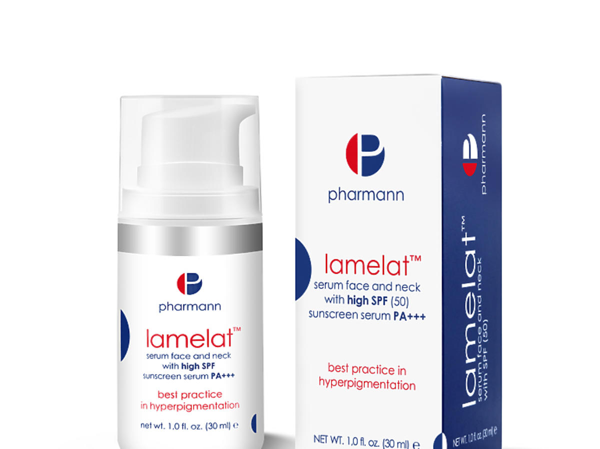 Lamelat™ serum face and neck with high SPF 50