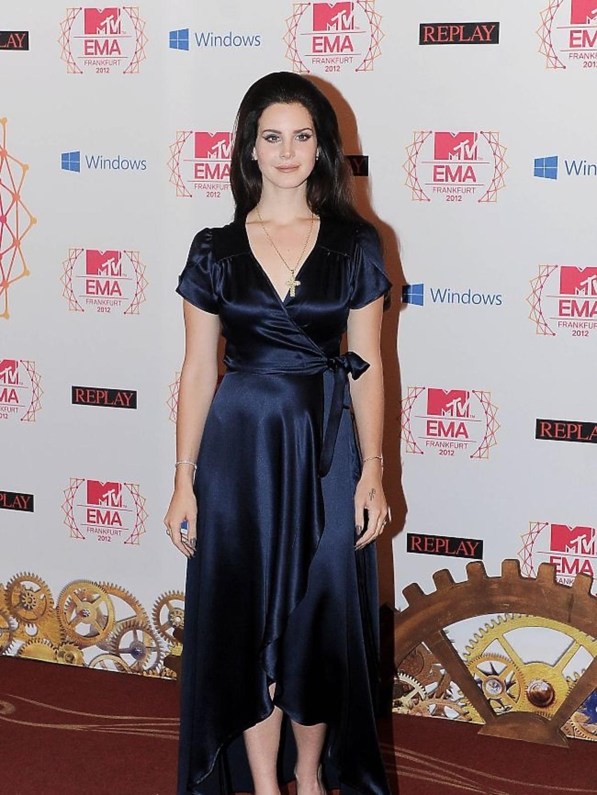 Lana Del Rey na gali MTV EMA 2012