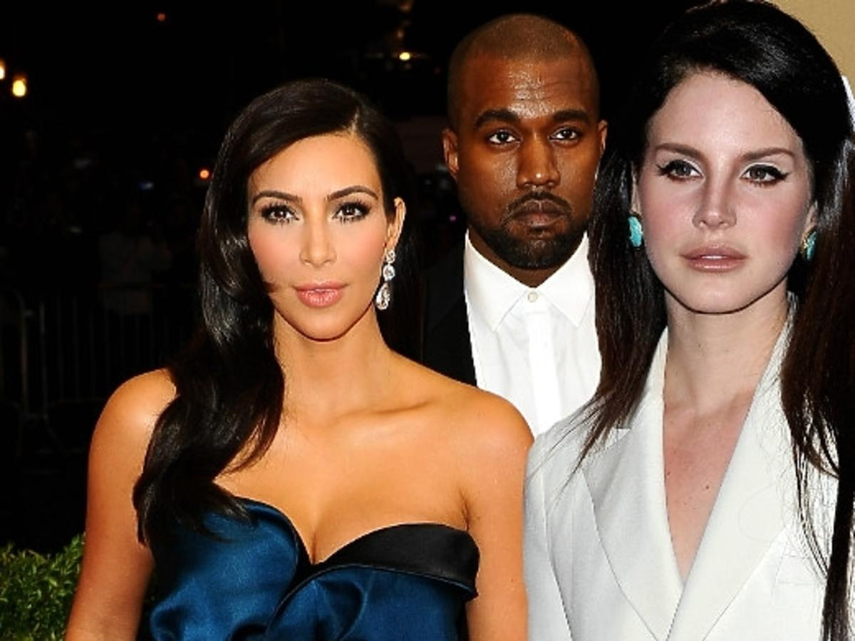 Lana Del Rey na ślubie Kim i Kanye