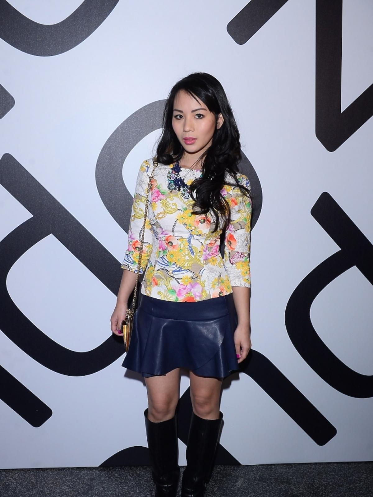 Lana Nguyen na imprezie Zalando
