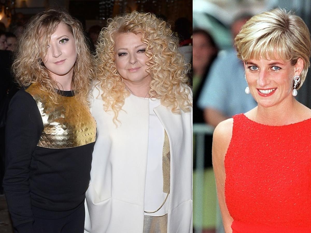 Lara Gessler, Magda Gessler, księżna Diana