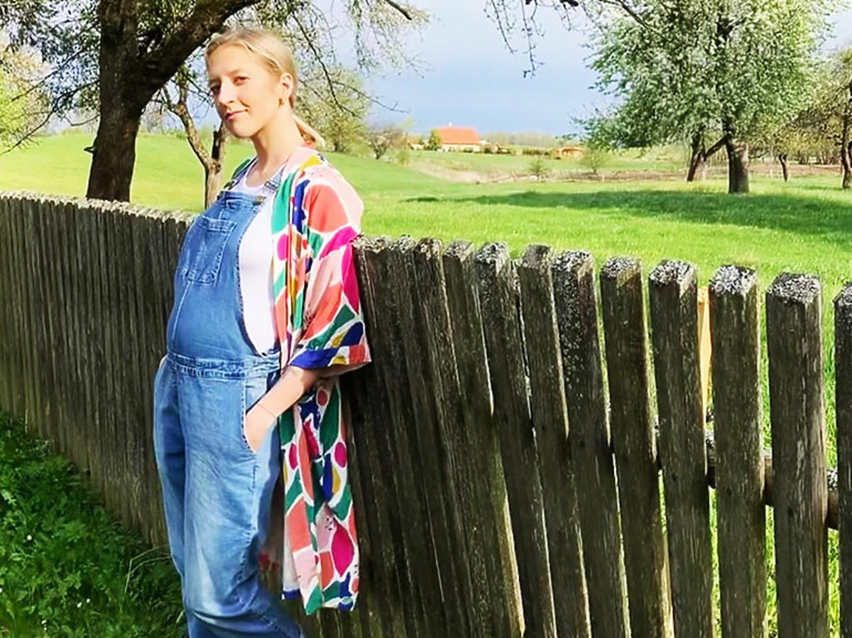 Lara Gessler w drugim trymestrze ciąży