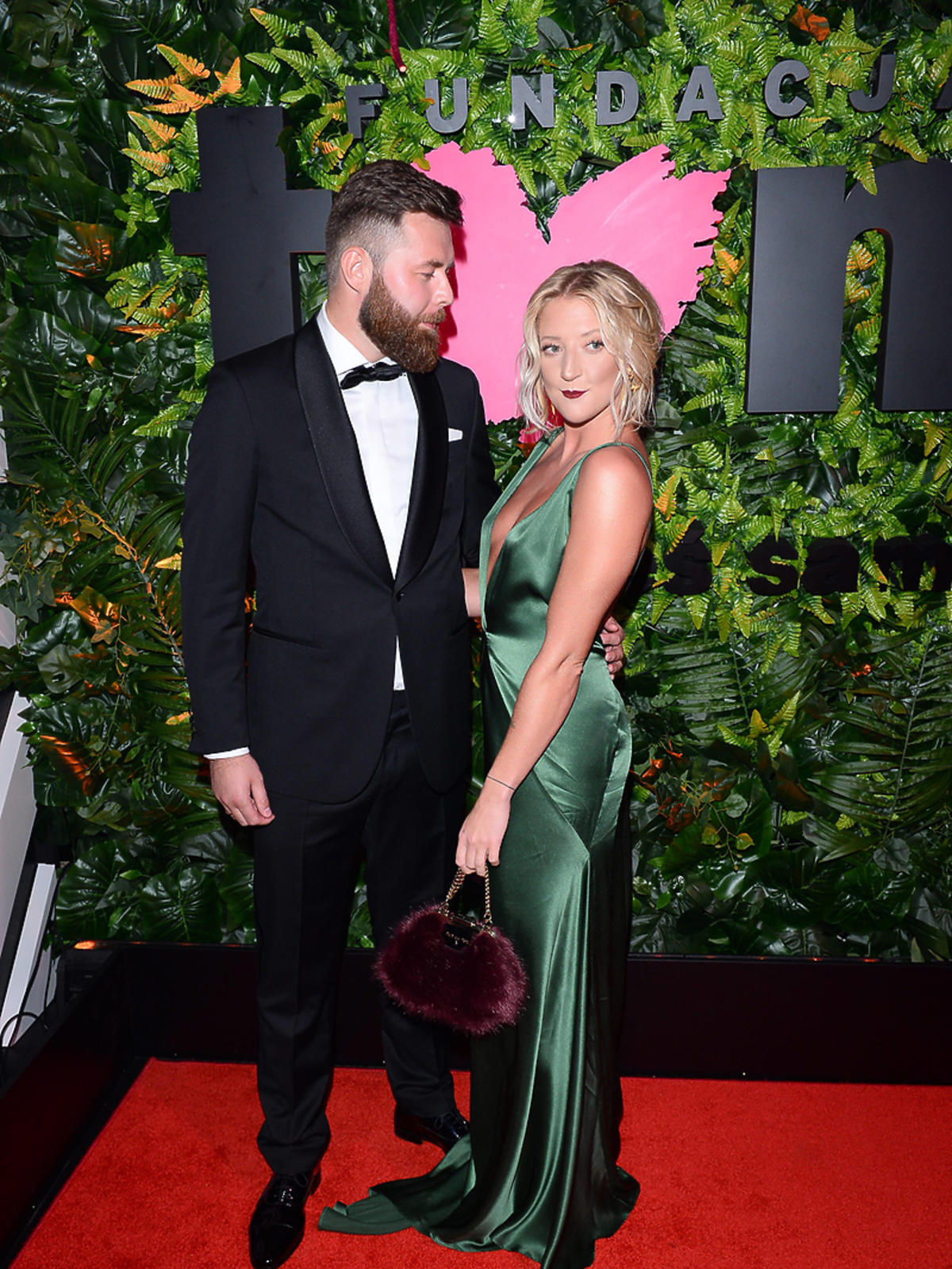 Lara Gessler z mężem Pawłem na balu fundacji TVN