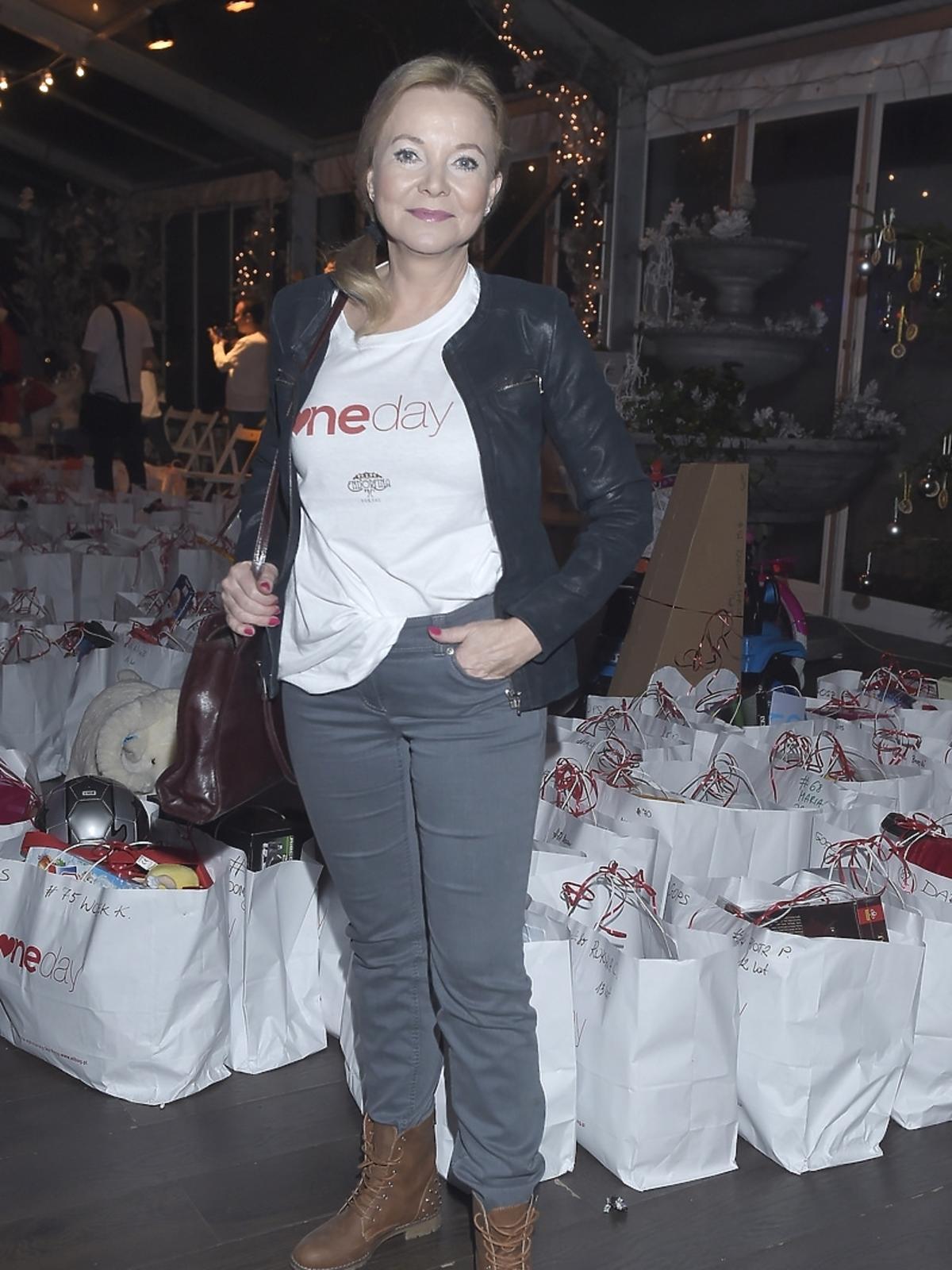 Laura Łącz na imprezie charytatywnej fundacji One Day