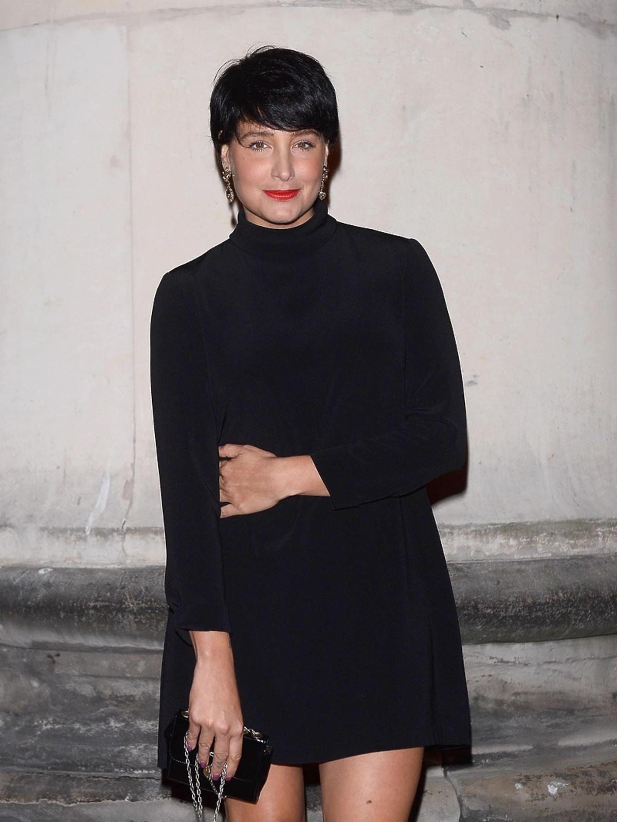 Laura Samojłowicz na premierze filmu