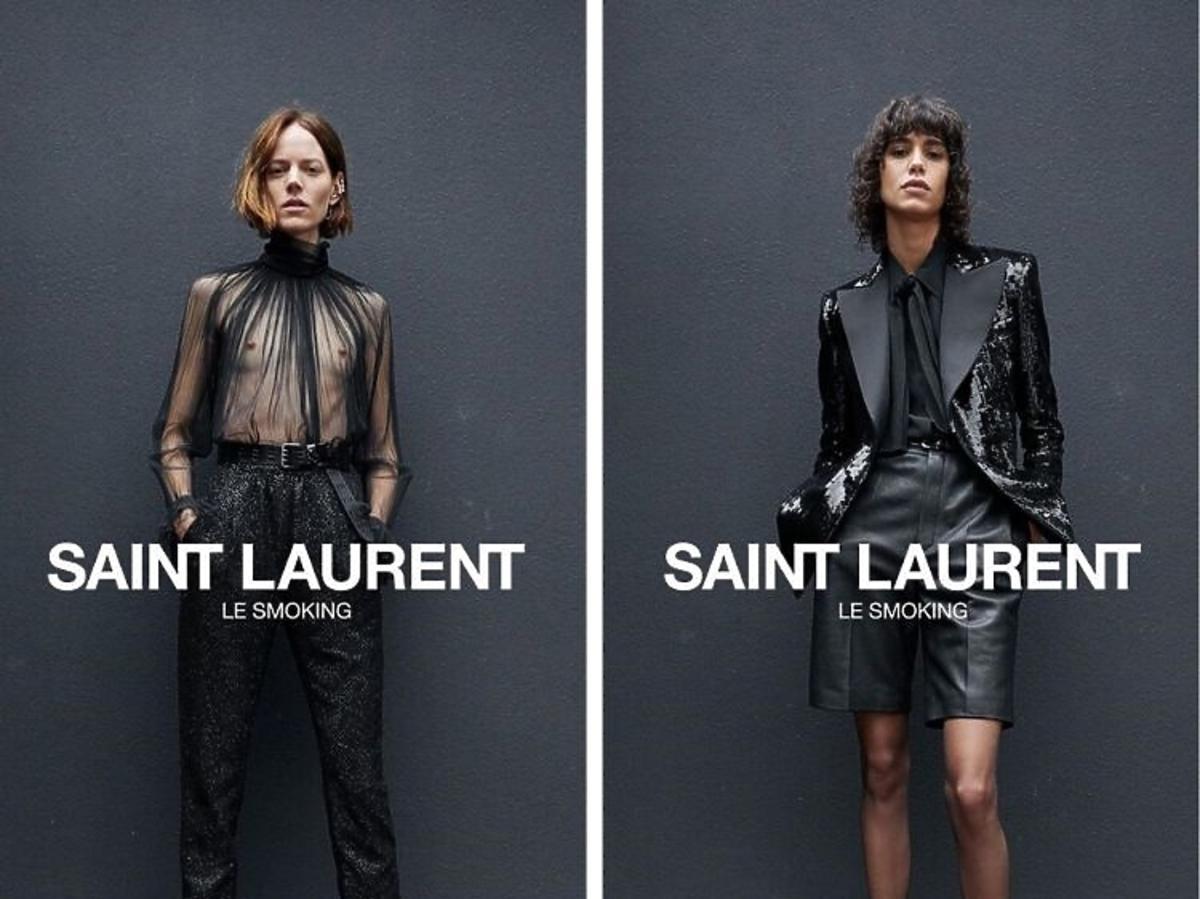 """Le smoking"" nowa kampania Saint Laurent"