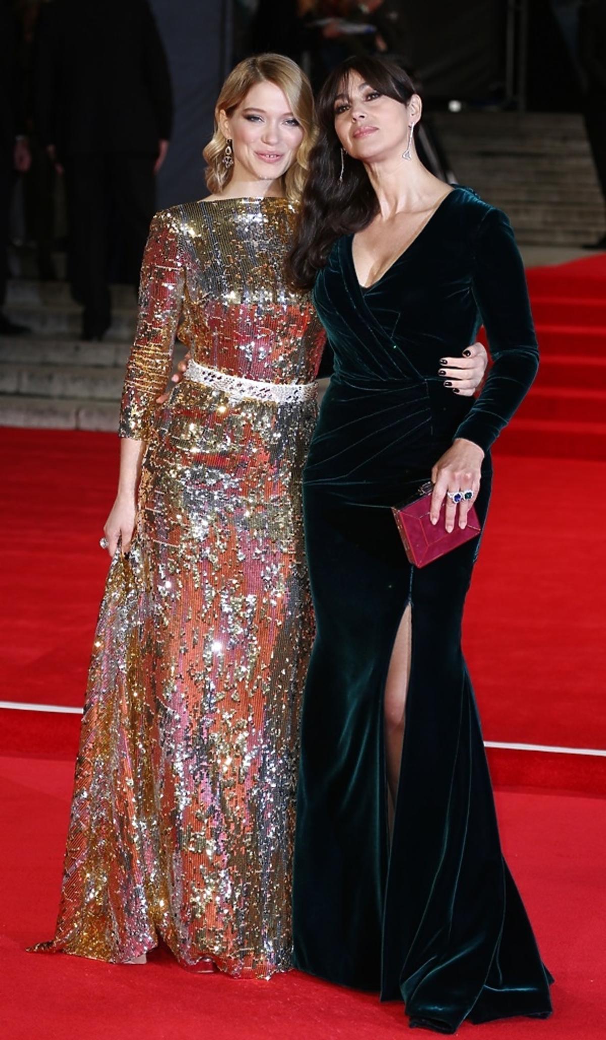 Lea Seydoux i Monica Bellucci