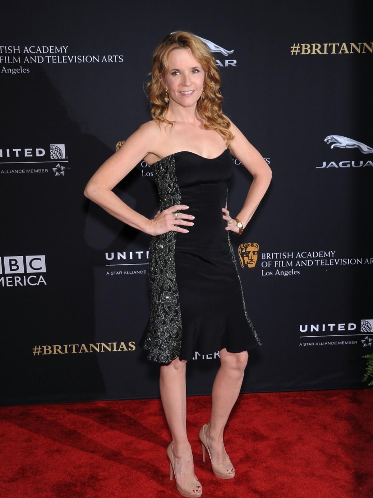Lea Thompson na rozdaniu nagród BAFTA