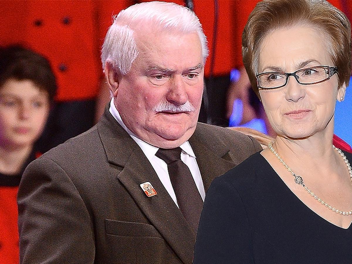 Lech Wałęsa krytykuje Danutę Wałęsę w programie Tomasza Lisa