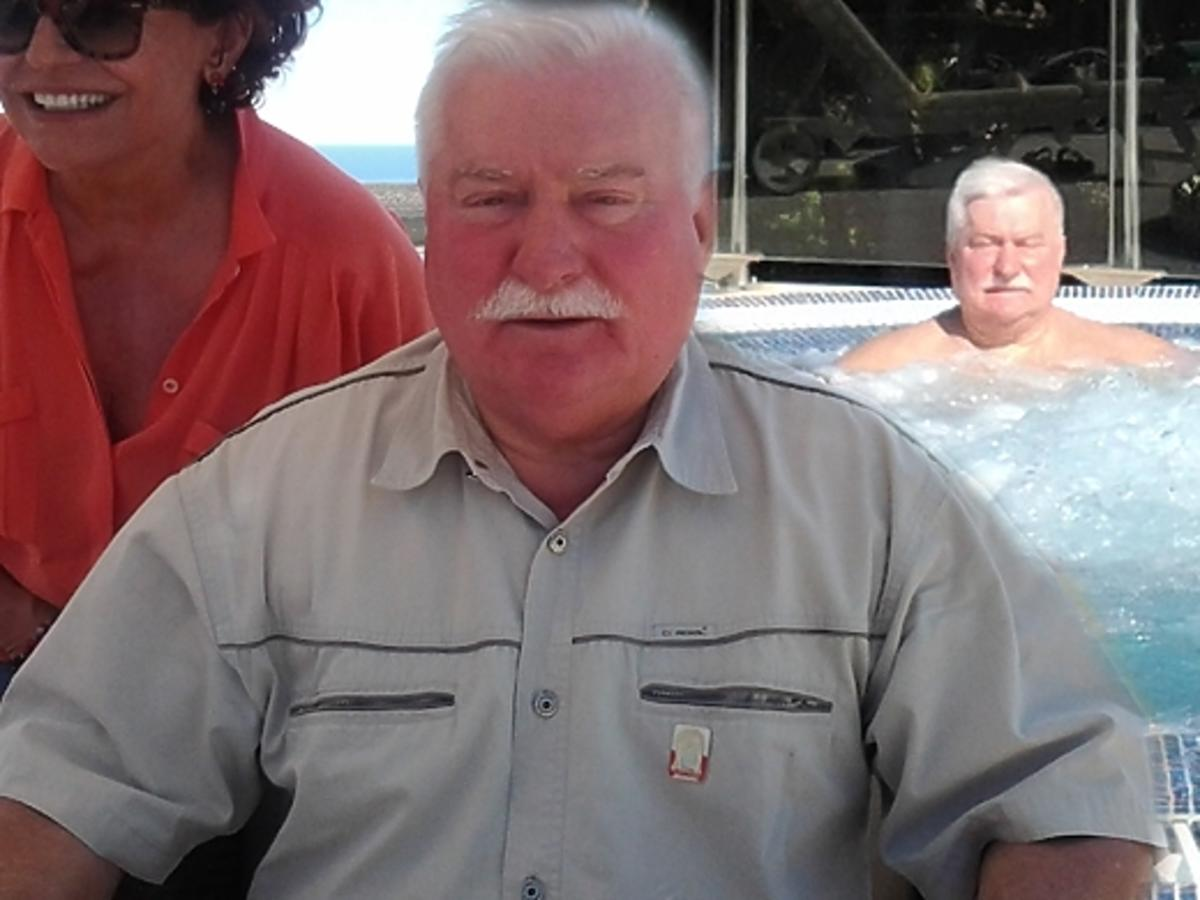Lech Wałęsa na majówce w Portugalii