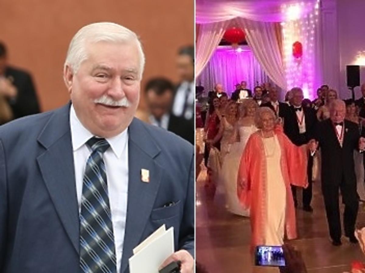 Lech Wałęsa w garniturze