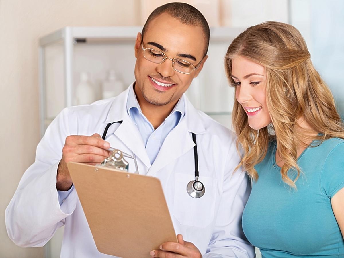 Lekarz i pacjentka