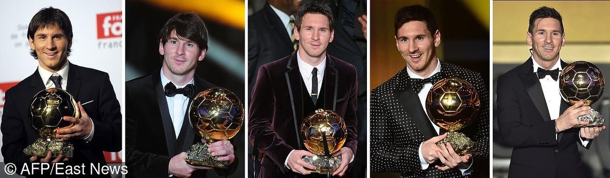 Leo Messi i złota piłka