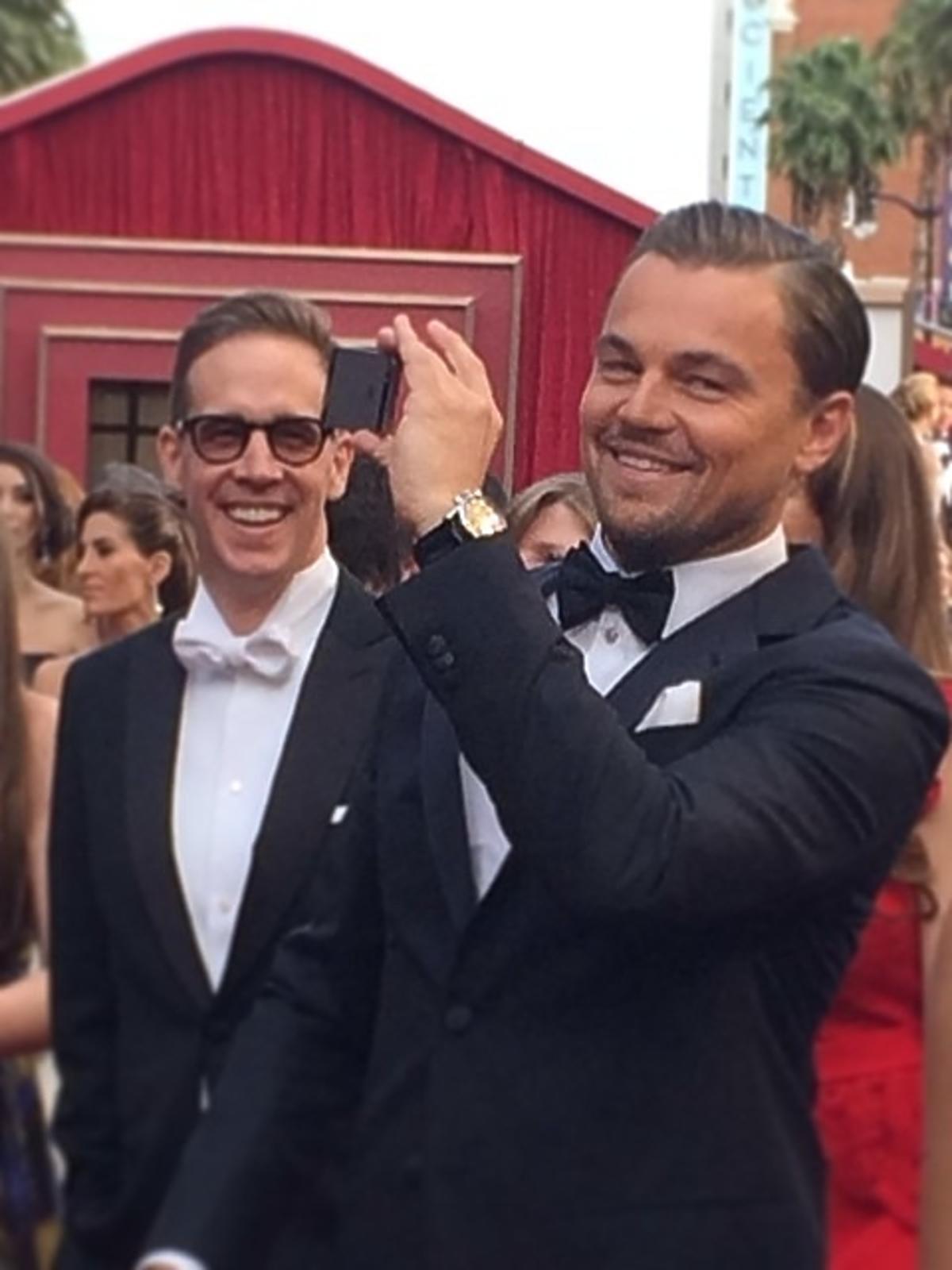 Leonardo Di Caprio Oscary 2014