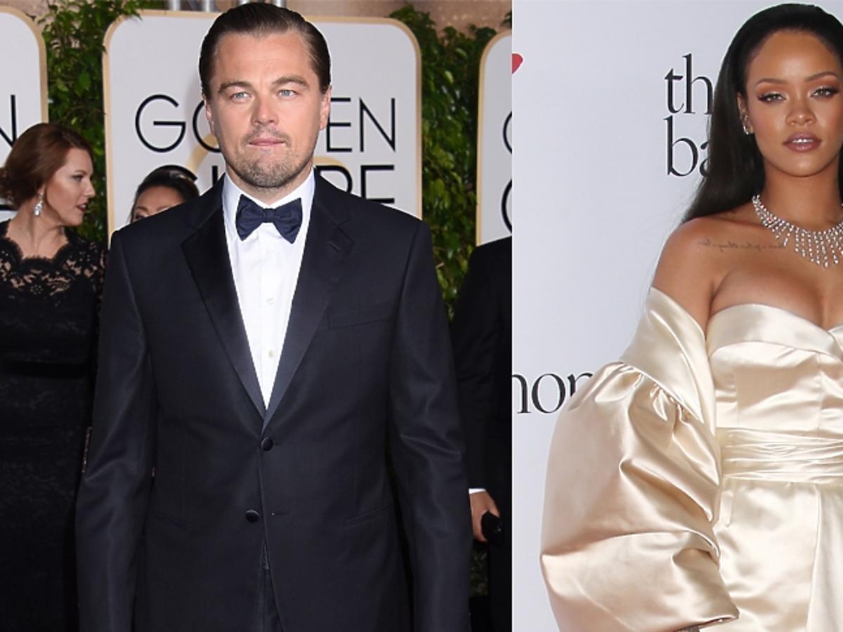 Leonardo Di Caprio w garniturze