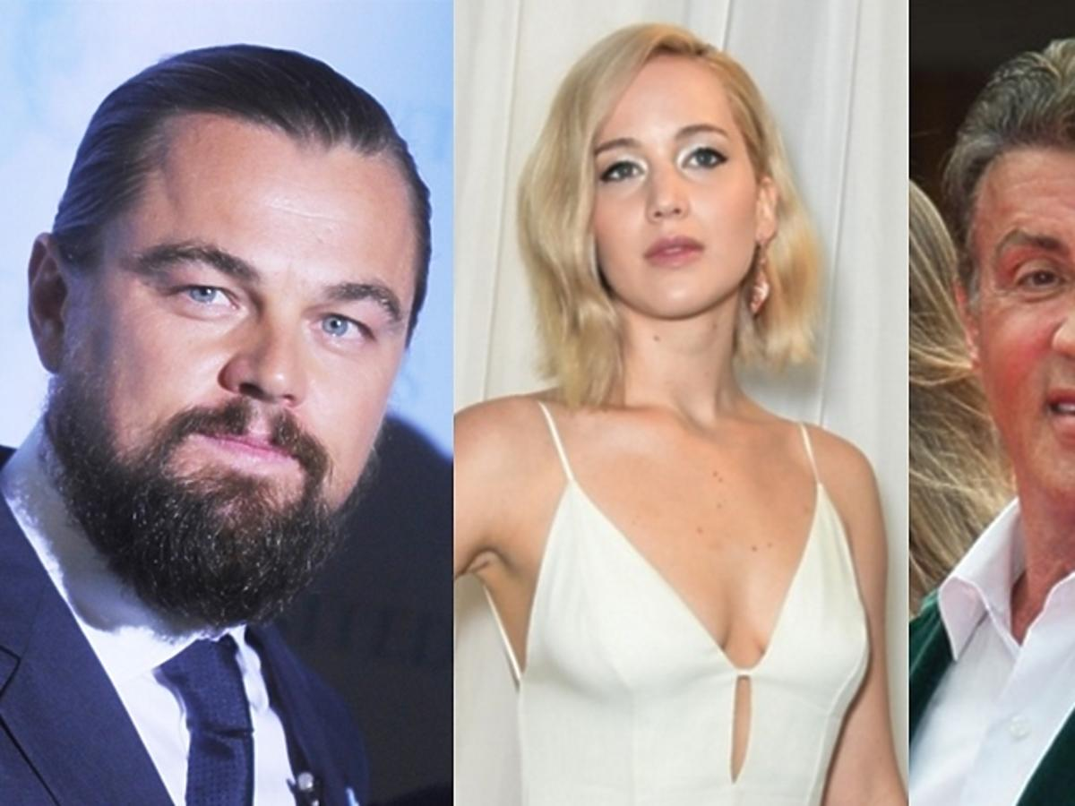 Leonardo DiCaprio, Jennifer Lawrence, Sylvester Stallone