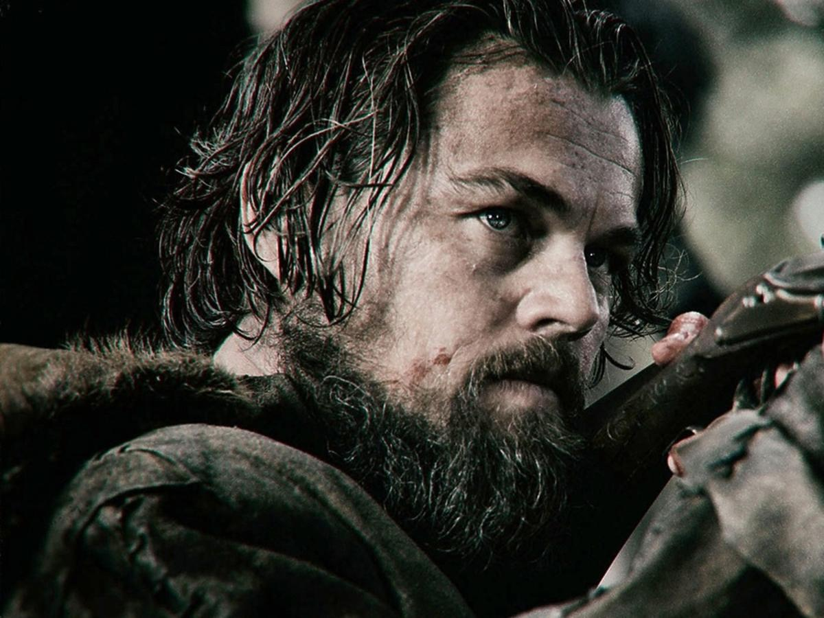 Leonardo DiCaprio strzela z muszkietu